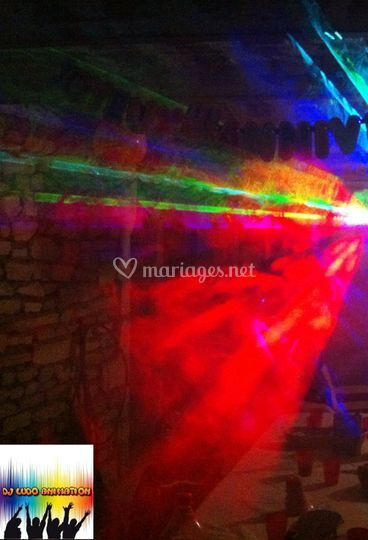 Show Laser Animation Mariage