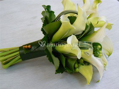 Bouquet d'arum
