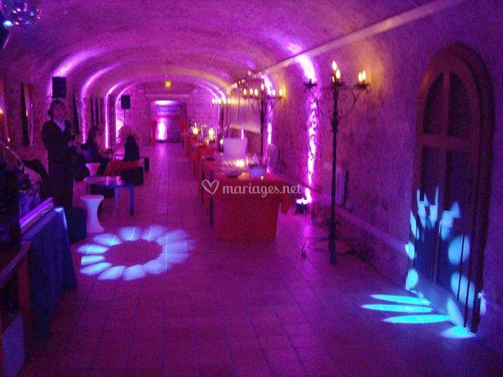 Les caves de la brasserie Kronembourg..éclairées par nos soins