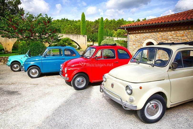 Flotte Fiat 500