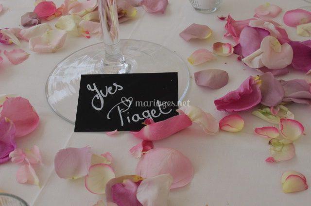 Le fleurissement de table