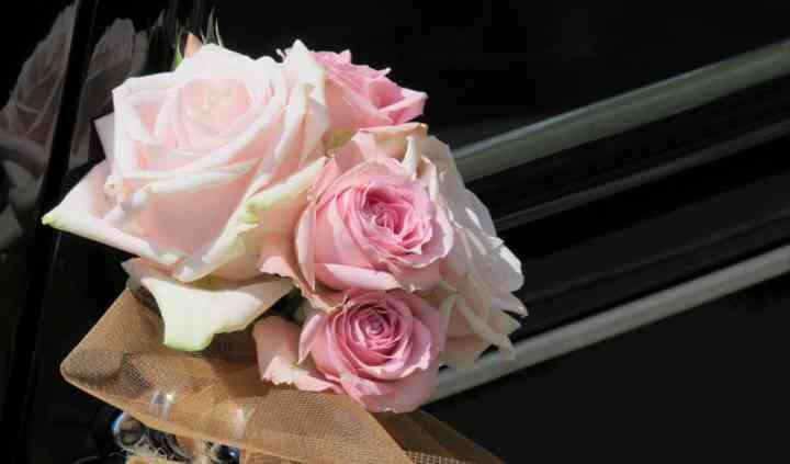 Bouquet pour voiture