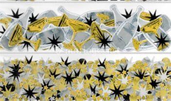 Confetti metalique