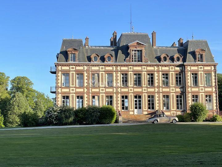 Bentley au Château