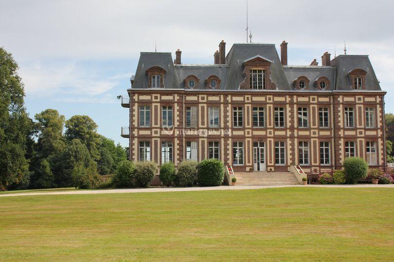 La façade nord du Château