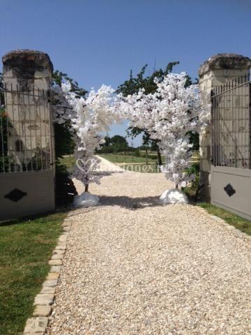 Le portail décoré