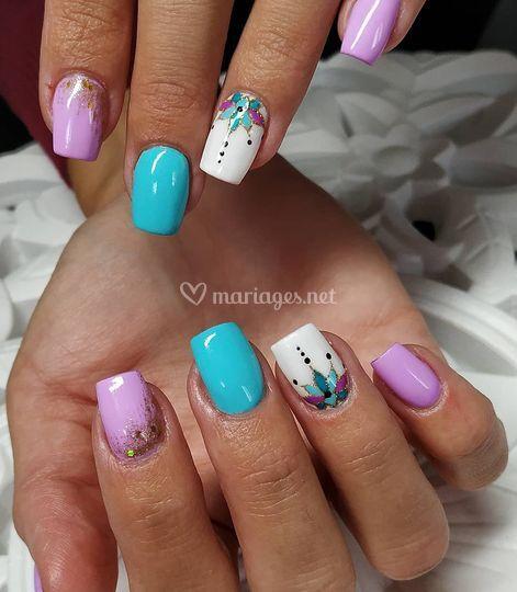 Nails flashy