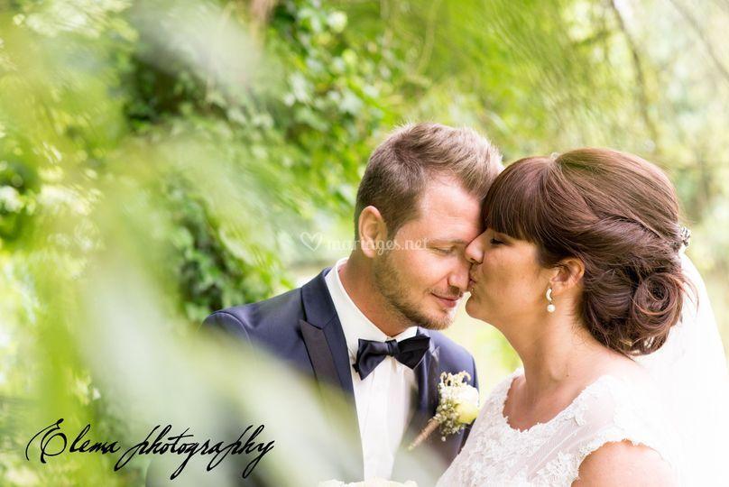 Portraits des mariés