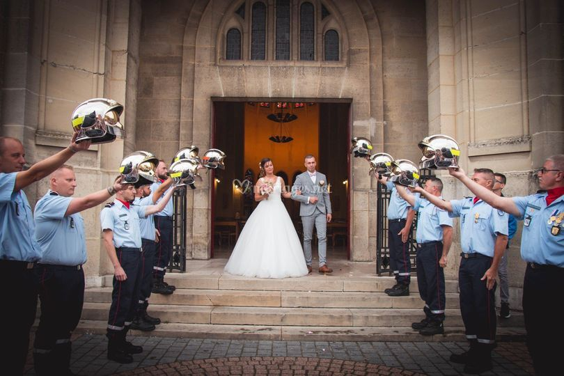 Mariage Pompiers