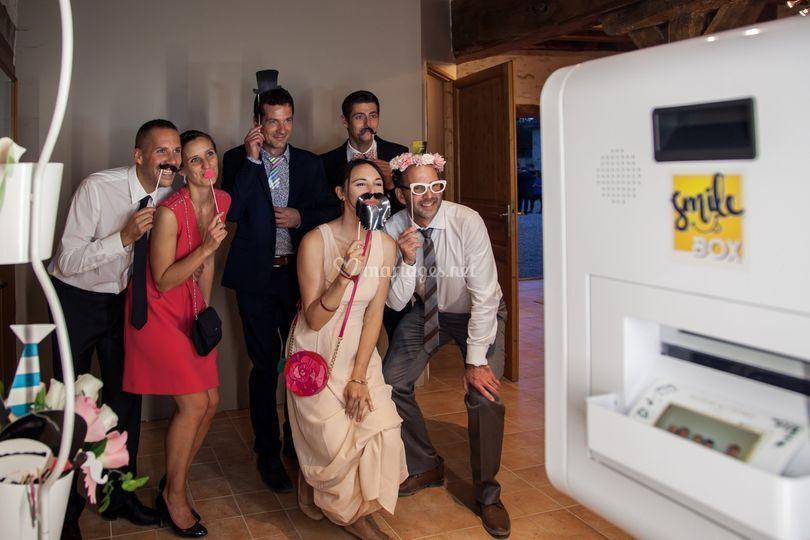 Smilebox mariage