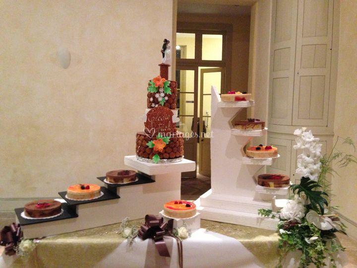 Présentation du dessert