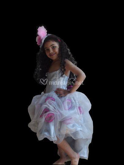 Robe princesse Volana