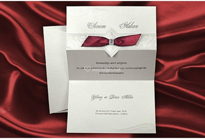 Carte mariage traditionn