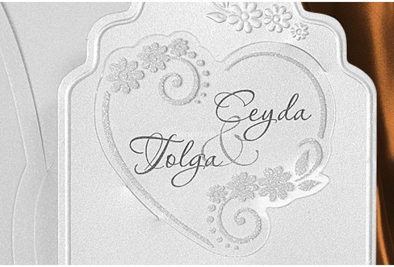 Carte de mariage Original