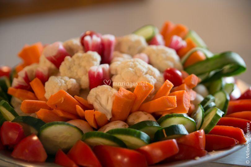 Légumes à dipper