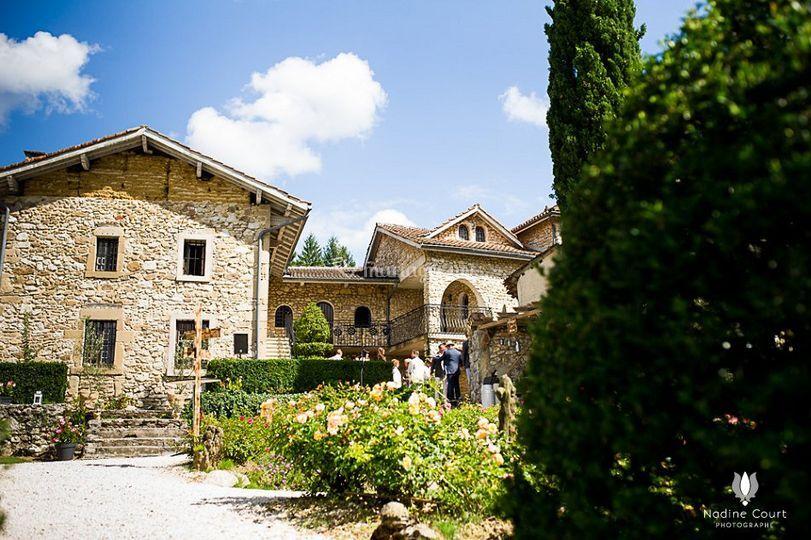 La bastide de Jaillans  façade