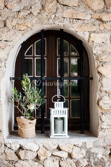 La bastide de Jaillans  fenêtre