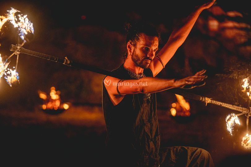 Danse avec le feu