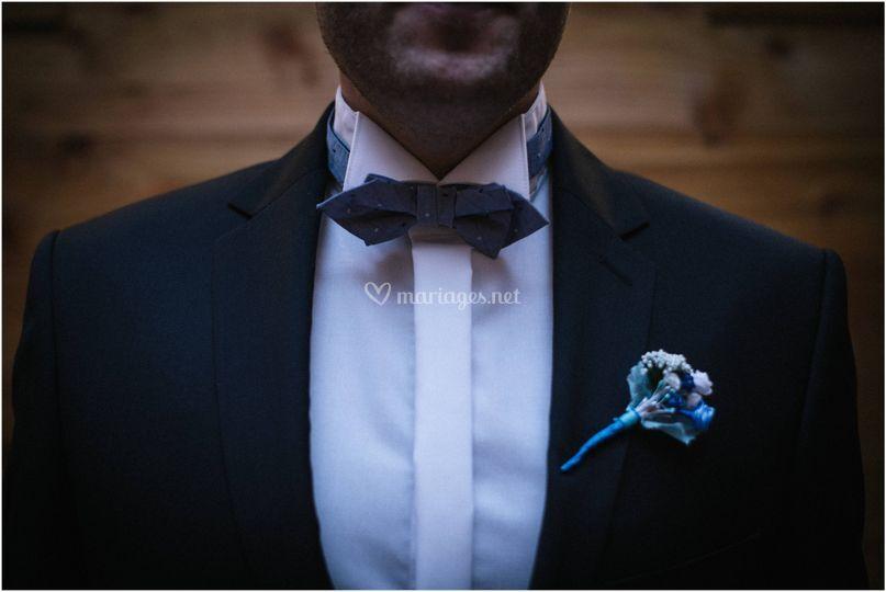 Détail du marié