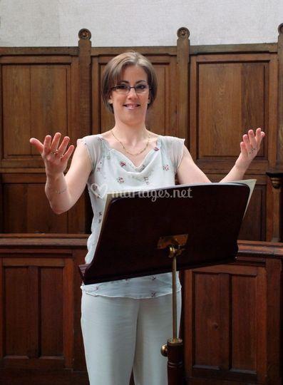 Duo Flûte Traversière, Chant et Orgue
