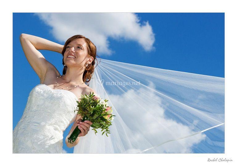 Couple, la mariée
