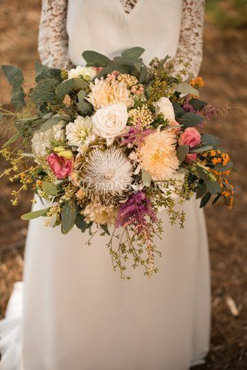 Bouquet de mariée XXL