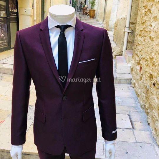 Costume Bordeaux