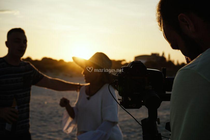 Shoot sur la plage