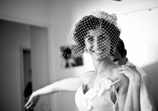La mariée, presque prête