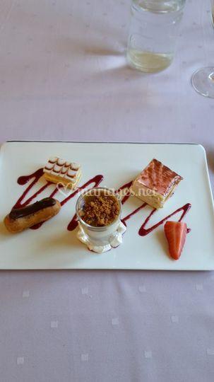 Assortiments dessert