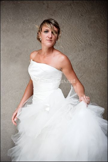 Portrait, la mariée.