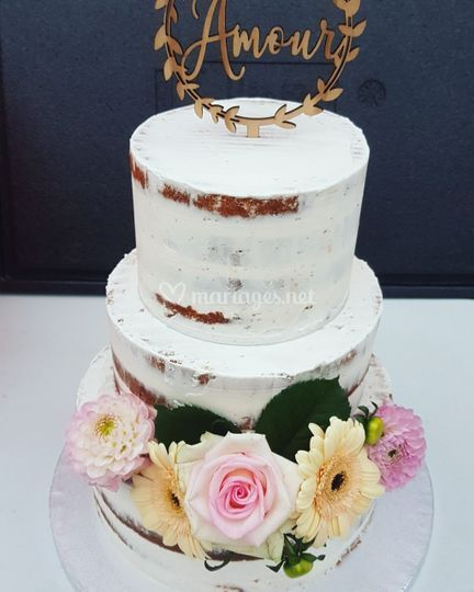 Naked cake pure