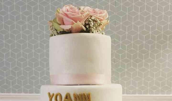 Wedding cake sobre et chic