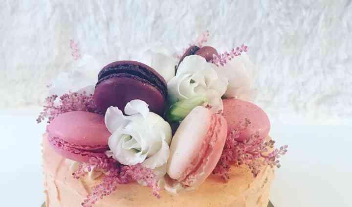Cake design floral