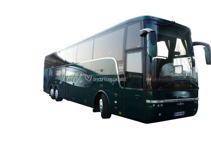Autocars James - bus grand confort