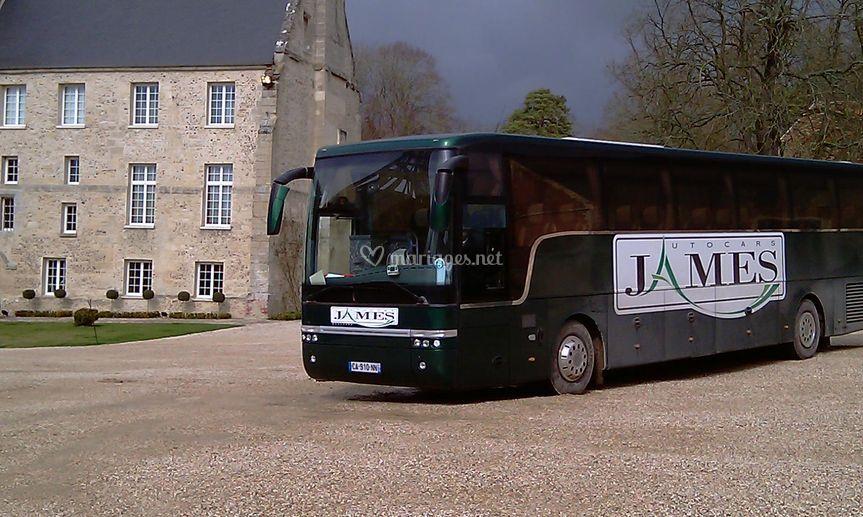 Autocars James - au château