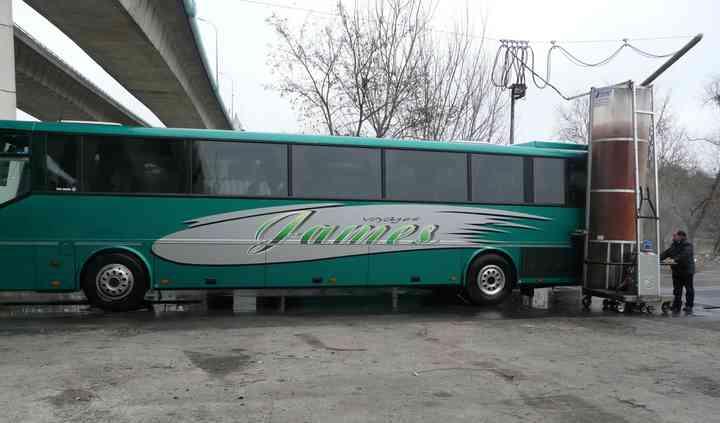 Autocar vert