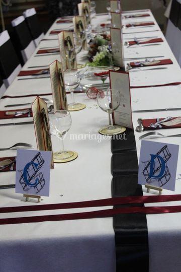 Décors d'une table