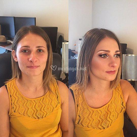 Aline L maquilleuse professionnelle Lyon