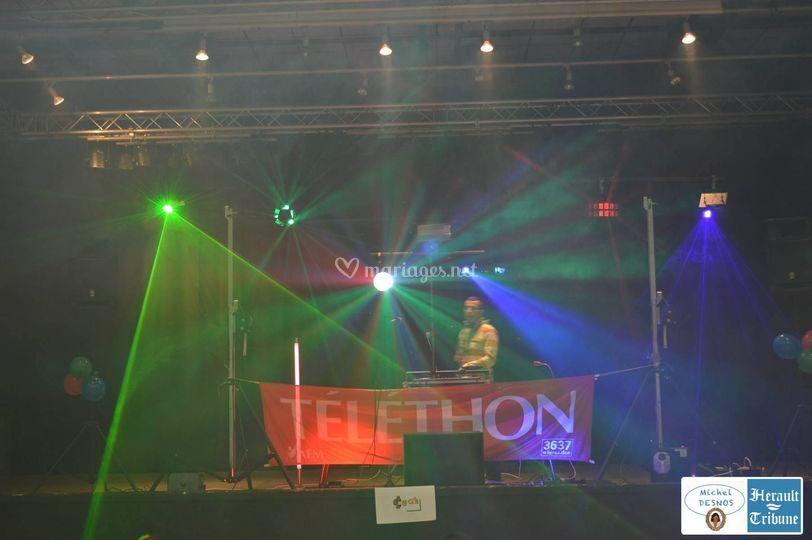 Ouverture Téléthon Agde