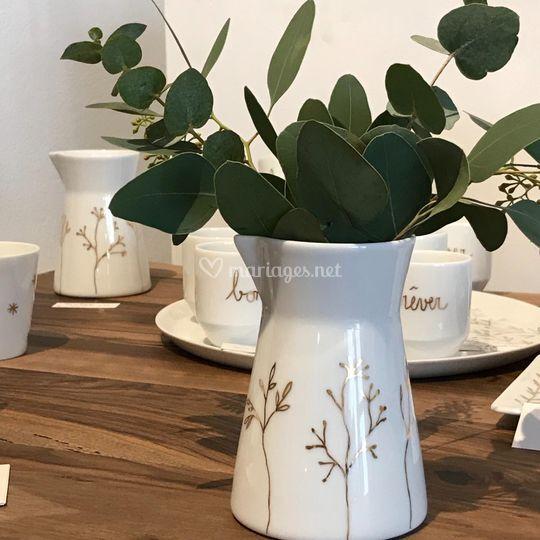 Pot à lait/ vase