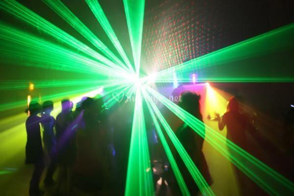 Soirée laser