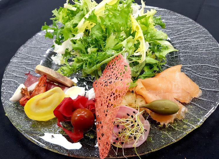 Repas - Salade gourmande