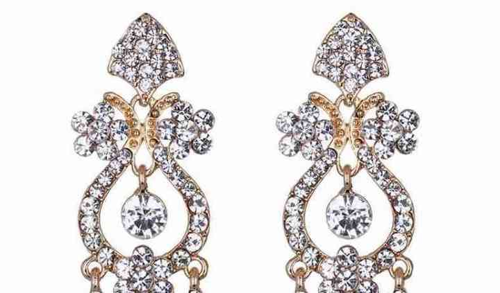 Boucles oreille chandelier or