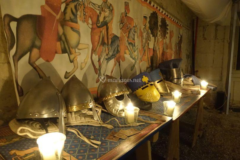Décoration médiévale
