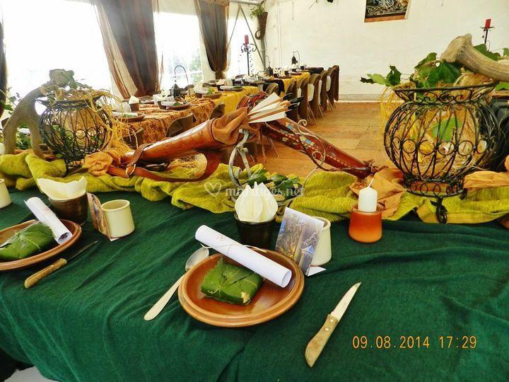Décoration mariage médiéval