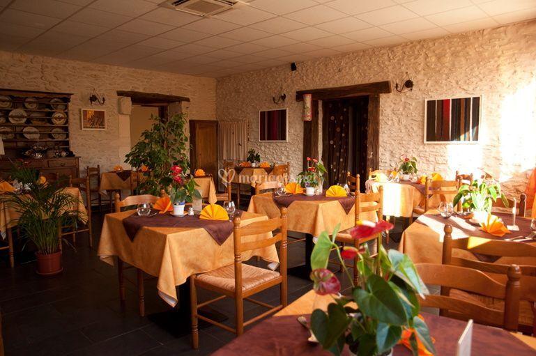 Salle de réception rustique