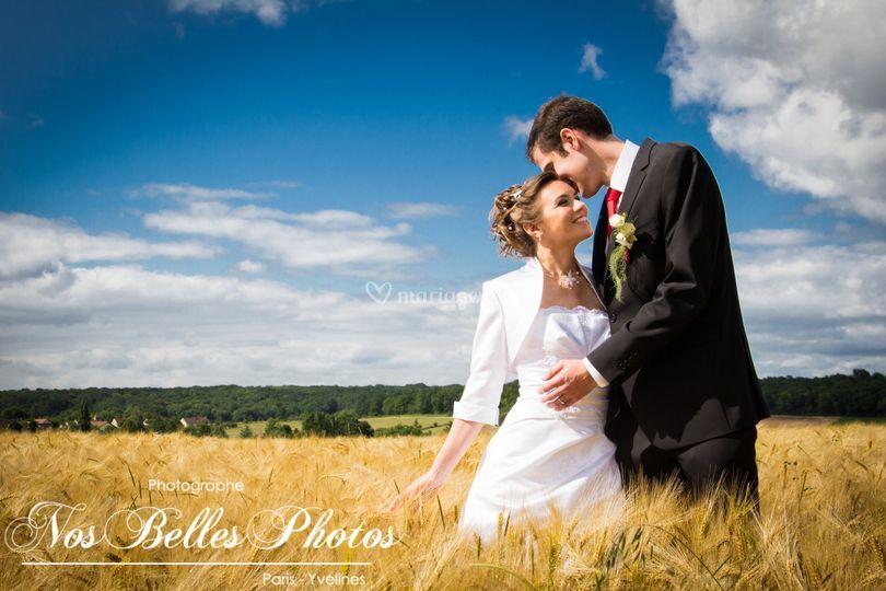 Photographe mariage limay