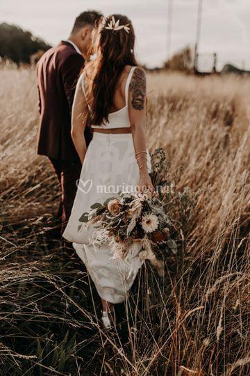 Le bouquet d'Amandine