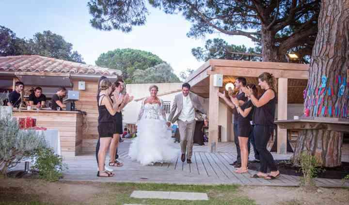Chrys & Max entrée des mariés